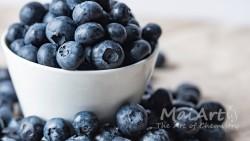 Premix frozen blueberries