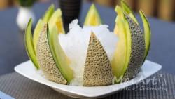 Aromat frozen melon