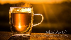 Premix peach tea