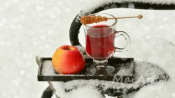 Premix apple tea
