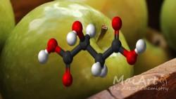 Kwas jabłkowy (10% r-r w PG)