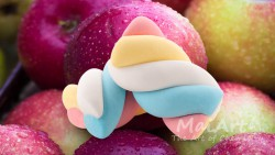 Aromat apple marshmallows