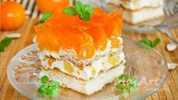 Aromat mandarine cheesecake