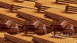 Aromat chocolate wafers