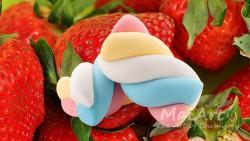 Aromat strawberry marshmallows